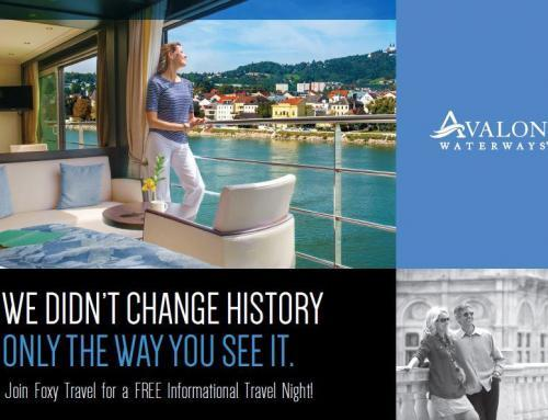 Free Informational Travel Night w/ Avalon Waterways – 5/10/16